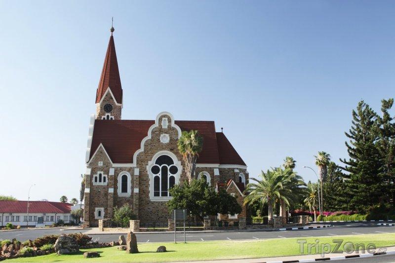 Fotka, Foto Windhoek, Kristův kostel (Namibie)
