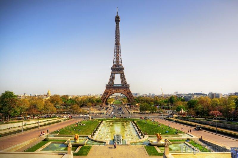 Fotka, Foto Eiffelova věž (Paříž, Francie)