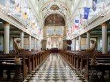 Interiér katedrály svatého Ludvíka