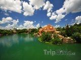 Jezero v Universal Orlando Resort