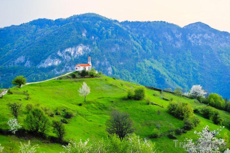 Fotka, Foto Kostel na kopci (Bulharsko)