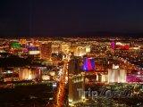 Las Vegas Strip v noci