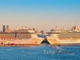 Lodě v přístavu Port Everglades
