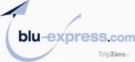Logo letecké společnosti Blu-express