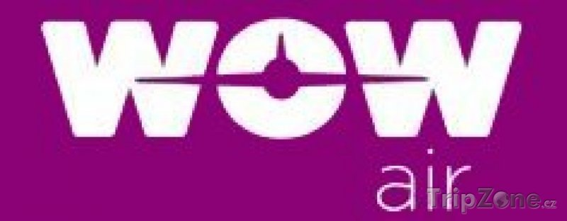 Fotka, Foto Logo Letecké společnosti WOW Air