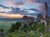 Malé Karpaty, zřícenina Plaveckého hradu