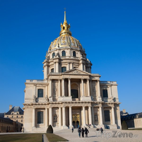 Fotka, Foto Pařížská Invalidovna (Paříž, Francie)