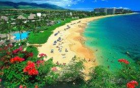 Pláž Kaanapali na havajském ostrově Maui