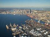 Pohled na Elliot Bay a přístav