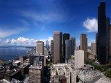 Pohled na město ze Smith Tower