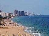 Pohled na pláž
