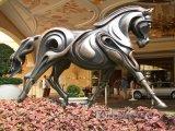 Socha koně před hotelem a casinem Wynn
