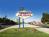 Uvítací cedule na začátku Las Vegas Strip