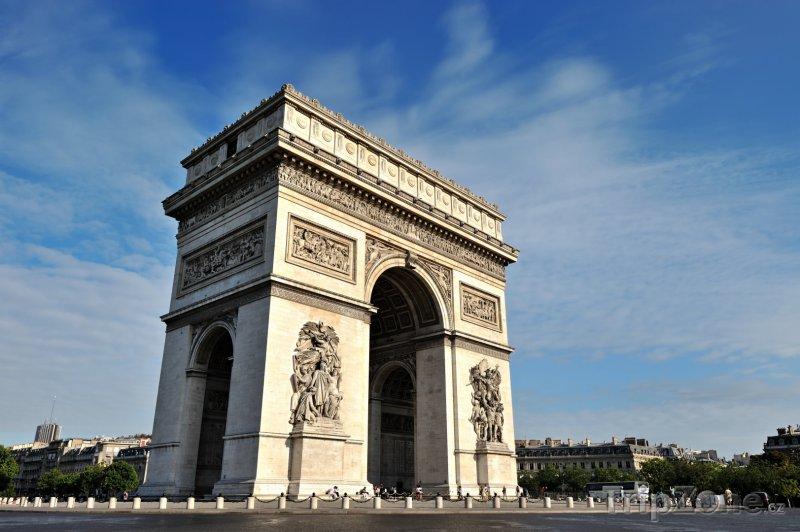 Fotka, Foto Vítězný oblouk (Paříž, Francie)