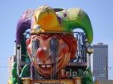 Vůz při masopustu Mardi Gras