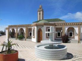 Agadir, fontána