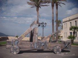Alghero, historický katapult