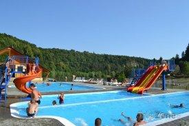 Camp Bítov, venkovní bazény, foto: camp-bitov.cz