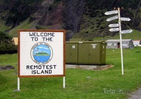 Cedule na Tristan da Cunha