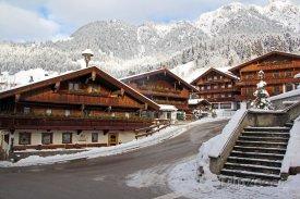 Centrum vesnice Alpbach