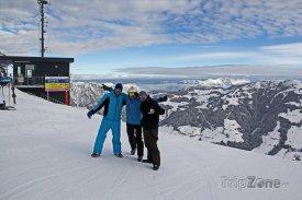 Česká skupina na vrcholu hory Gmahkopf