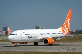 Letadlo společnosti SkyUp Airlines