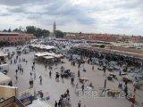 Marakéš, náměstí Djemaa El Fna