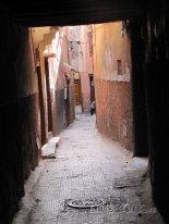 Marákeš, ulička