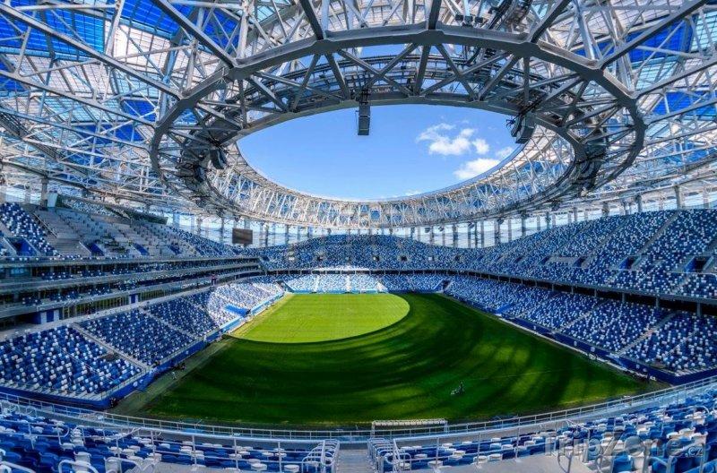 Fotka, Foto Nizhny Novgorod Stadium, foto: facebook.com