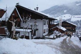 Pohled na hotel Gasthof Berghof