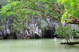 Řeka Puerto Princesa na ostrově Palawan