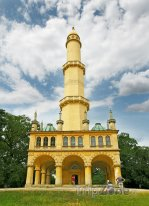 Rozhledna Minaret v zámeckém parku Lednice