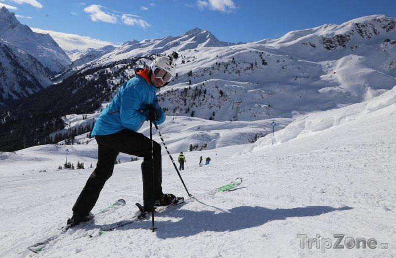 Fotka, Foto St. Anton nadchne náročné a zkušené lyžaře, foto: Petra Zápecová