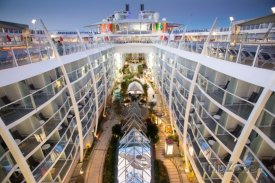Symphony of the Seas, pohled na Central park
