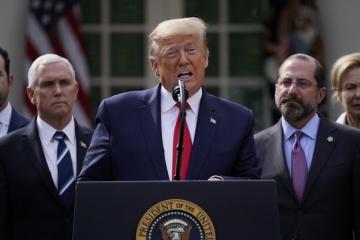 Trump vyhlásil v USA stav nouze kvůli epidemii koronaviru