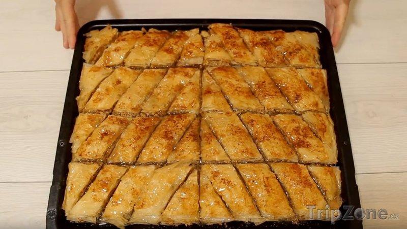 Fotka, Foto Turecký dezert baklava