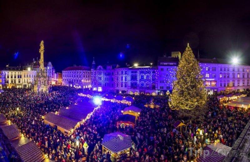 Fotka, Foto Vánoční trhy v Olomouci