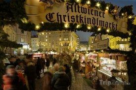 Vánoční trhy ve Vídni - Freyung