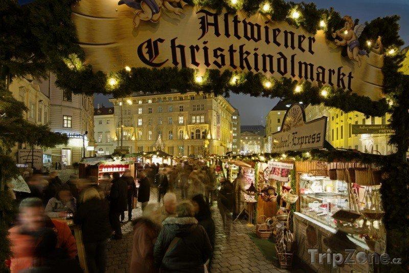 Fotka, Foto Vánoční trhy ve Vídni - Freyung