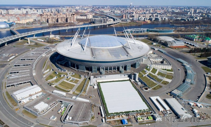 Fotka, Foto Zenit Arena, foto: facebook.com