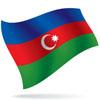 vlajka Ázerbájdžán