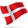 vlajka Dánsko
