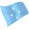 vlajka Mikronésie