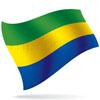 vlajka Gabon