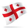 vlajka Gruzie