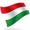 vlajka Maďarsko
