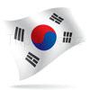 vlajka Jižní Korea