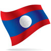vlajka Laos