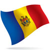 vlajka Moldavsko