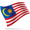 vlajka Malajsie